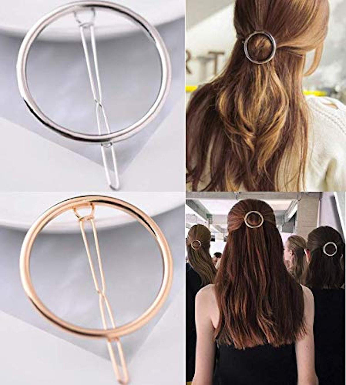 LASSUM Geometric Hair Clip (2 Pack)