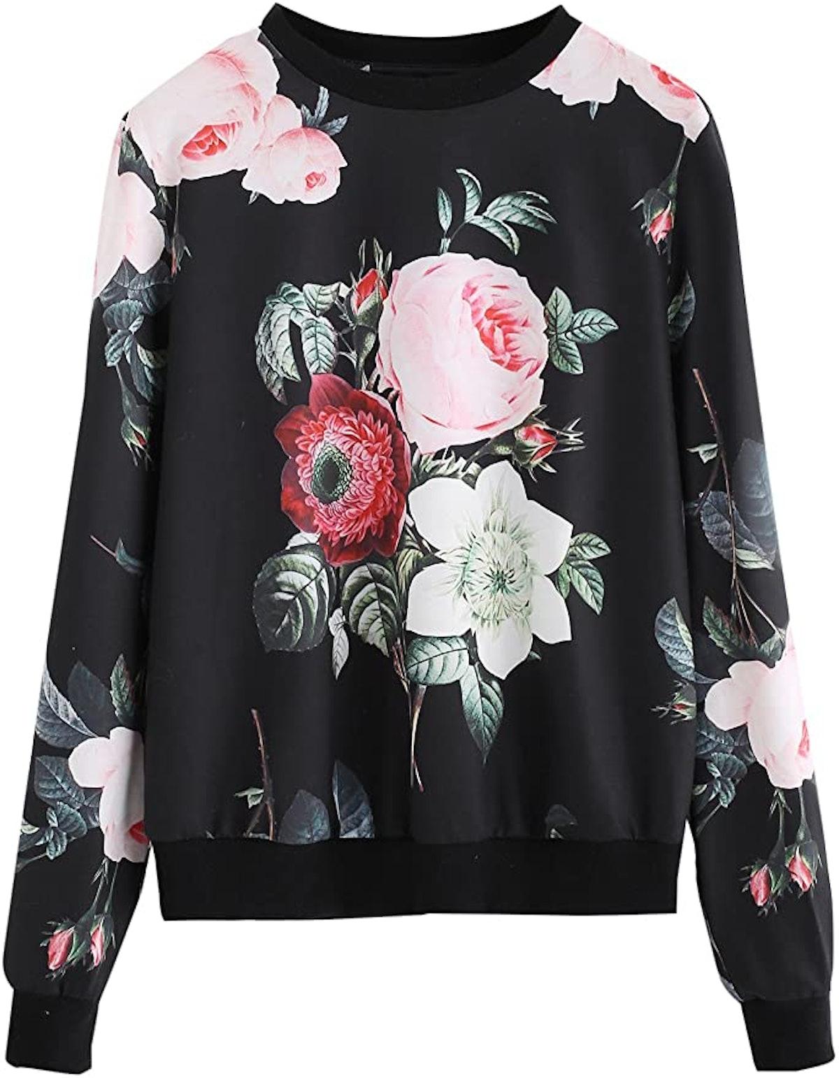 Romwe Lightweight Sweatshirt