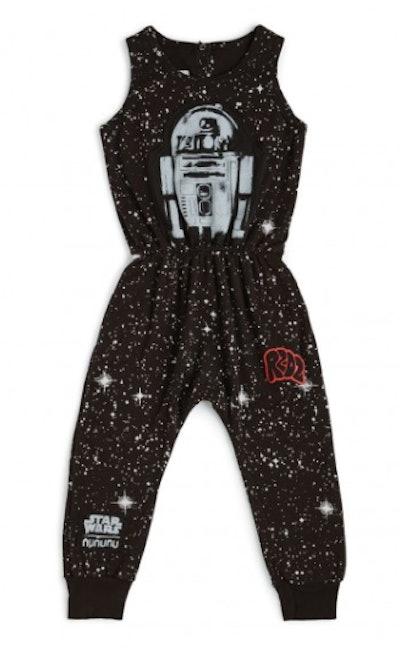 R2-D2 galaxy romper