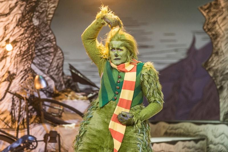 Matthew Morrison in The Grinch Musical, via NBC press site.