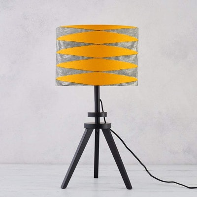 Lampshade African Wax Print