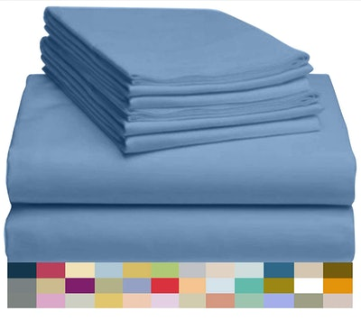 LuxClub Bamboo Sheets Set (Queen)