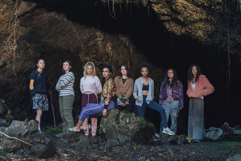 The cast of 'The Wilds' via the Amazon press site