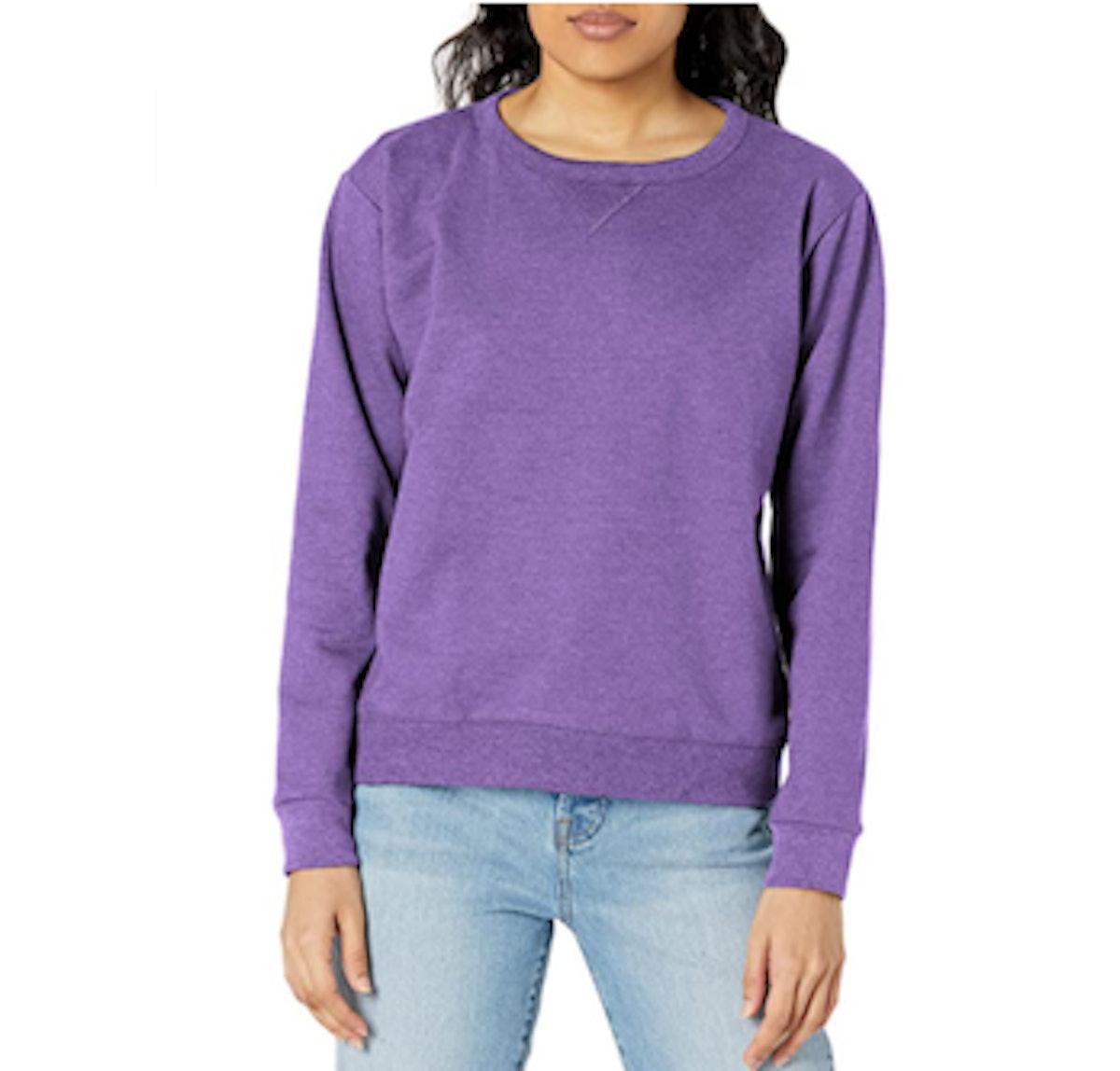Hanes V-Notch Fleece Sweatshirt