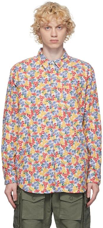 Engineered Garments Flannel Floral Shirt