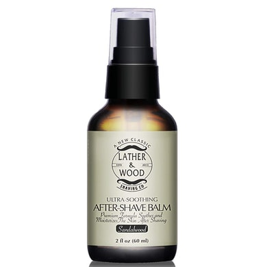 Lather & Wood After Shave Balm