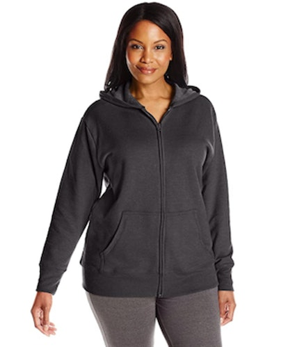 Just My Size Plus-Size Full-Zip Hoodie