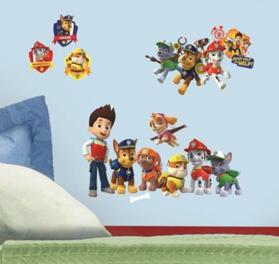 RoomMates PAW Patrol Giant Peel and Stick Wall Decals