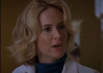 Sarah Paulson in 'Grey's Anatomy'