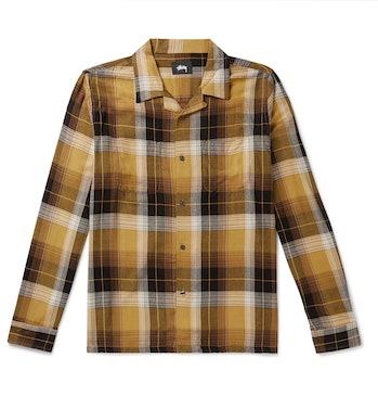 Stüssy Camp Collar Checkered Flanne