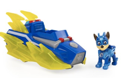 PAW Patrol Mighty Pups Charged up Chase's Deluxe Vehicle