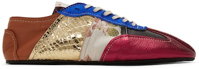 Multicolor Patchwork Sneakers