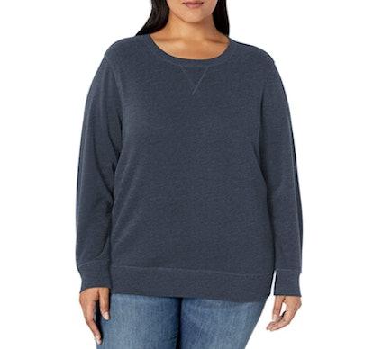 Amazon Essentials Plus-Size Crew-Neck Sweatshirt