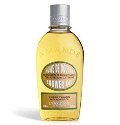 L'Occitane Cleansing & Softening Shower Oil