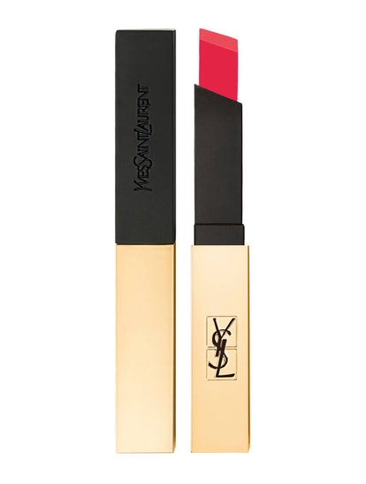 ROUGE PUR COUTURE THE SLIM MATTE LIPSTICK -- Coral Revolt