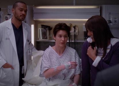 Rachel Brosnahan in 'Grey's Anatomy'