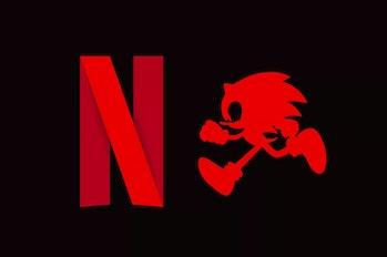 Netflix Sonic series logo