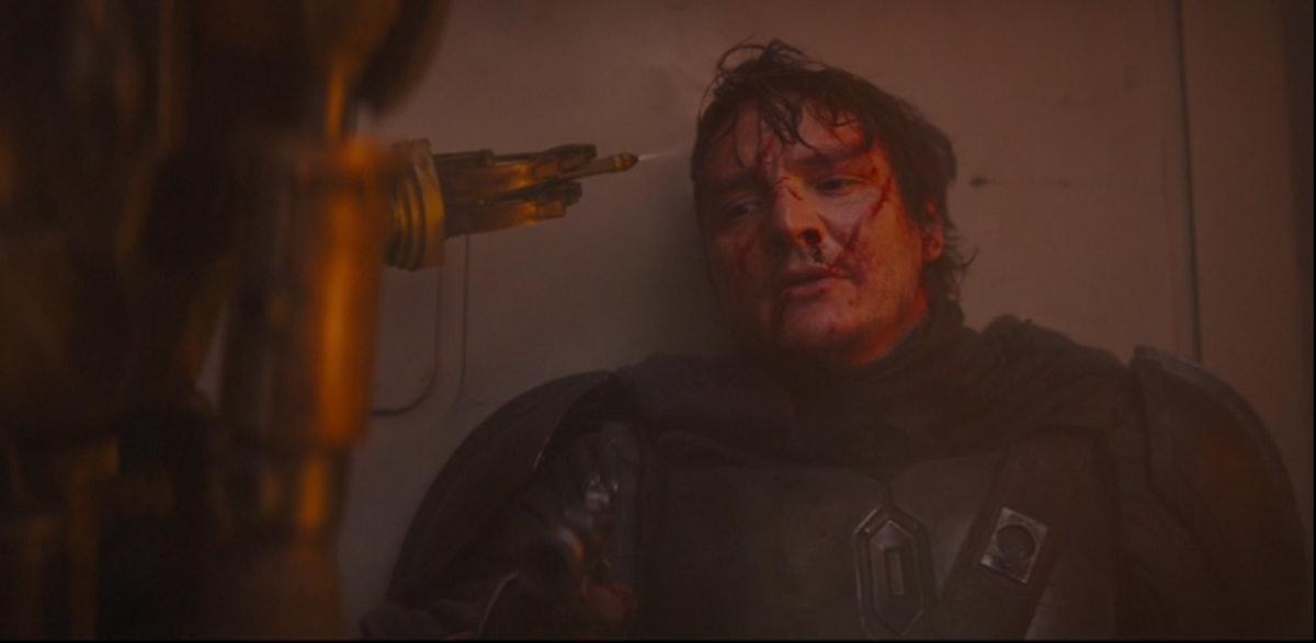 Pedro Pascal stars in The Mandalorian.