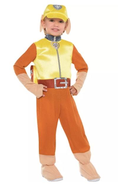Toddler Boys Rubble Costume