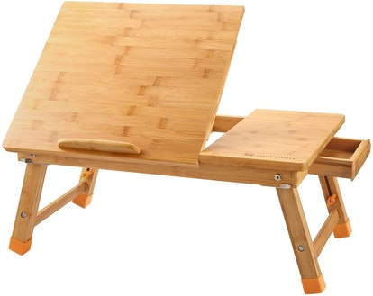 Nnewvante Bamboo Laptop Desk