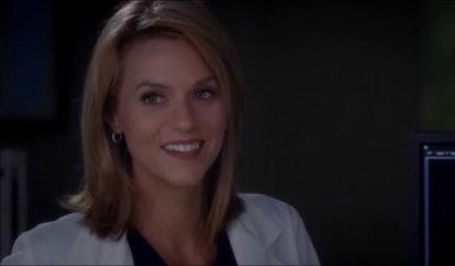 Hilarie Burton in 'Grey's Anatomy'