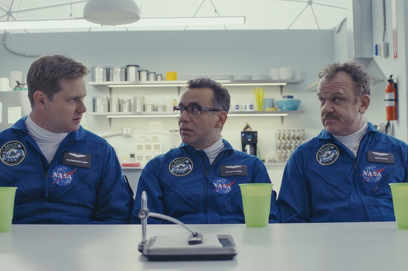 'Moonbase 8' may not return for Season 2 on Showtime. Tim Heidecker, Fred Armisen, and John C. Reill...
