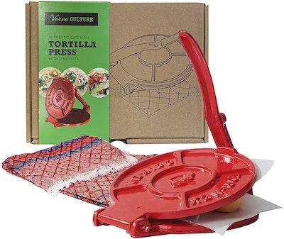 Verve Culture Tortilla Press Kit