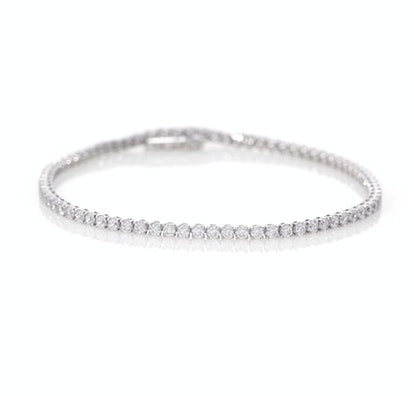 Certified Lab-Created Diamond Tennis Bracelet