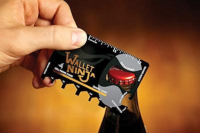 Wallet Ninja 18-In-1 Credit-Card-Sized Multi-Tool