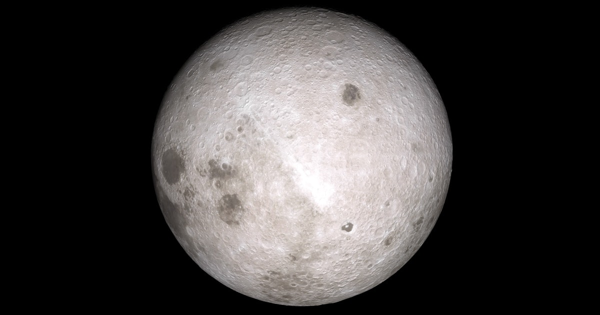 "First direct study of far side of the Moon reveal a ""different world"""