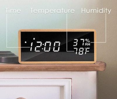 meross Digital Alarm Clock