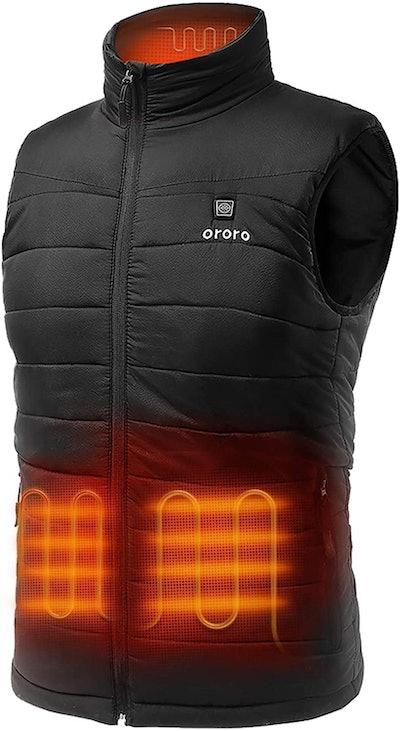 ORORO Men's Lightweight Heated Vest