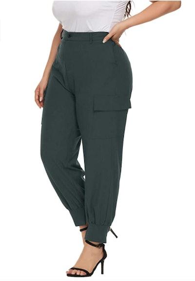 Hanna Nikole Plus-Size Jogger Pants