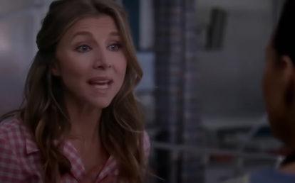 Sarah Chalke in 'Grey's Anatomy'