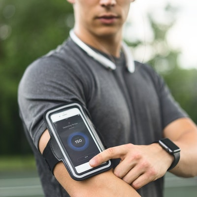 TRIBE Water-Resistant Cell Phone Armband Case