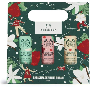 The Body Shop Christmassy Holiday Hand Cream Trio