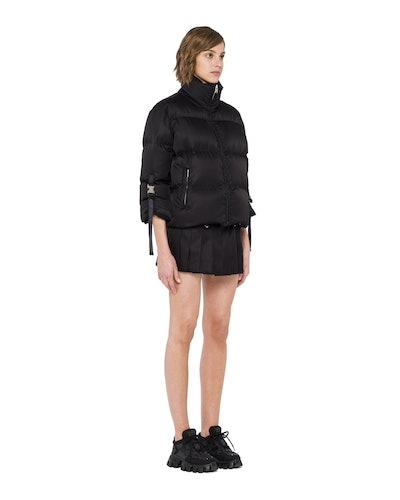 Re-Nylon Gabardine Puffer Jacket