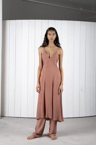 Celise Silk Slip Dress