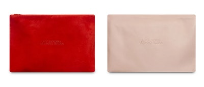 Aura Red and Pink Pouch