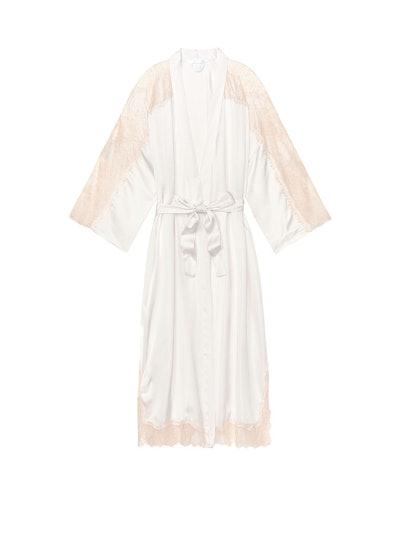 Midi Lace Kimono Robe