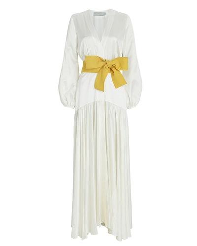 Felicity Tie-Waist Maxi Dress