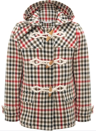 JW Anderson Checked Duffle Coat