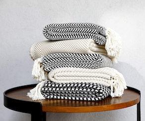 Peshtemania Turkish Throw Blanket