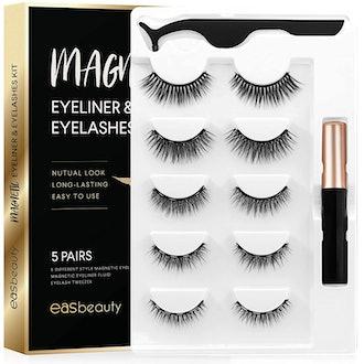 easbeauty Magnetic Eyelashes and Eyeliner
