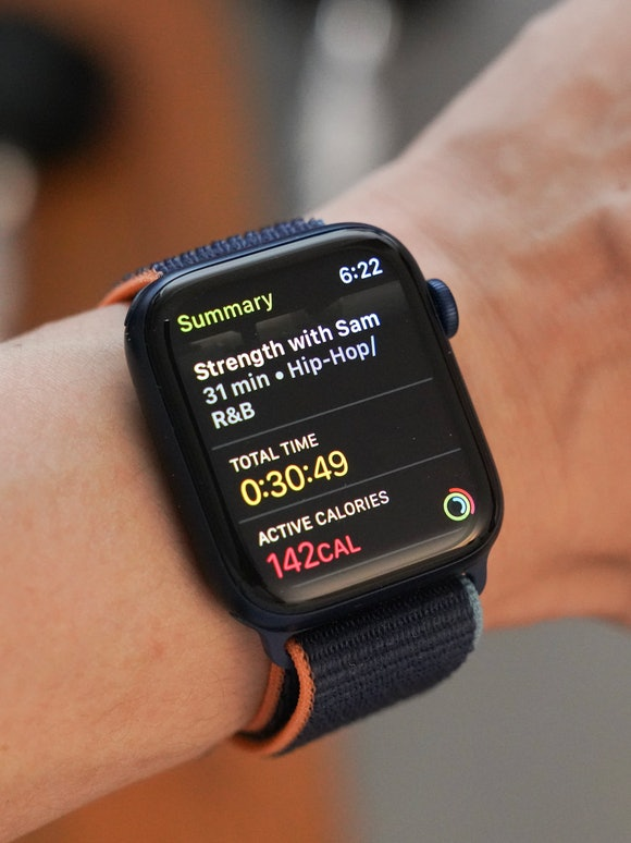 Apple Fitness+ review: Stats on Apple Watch after workout