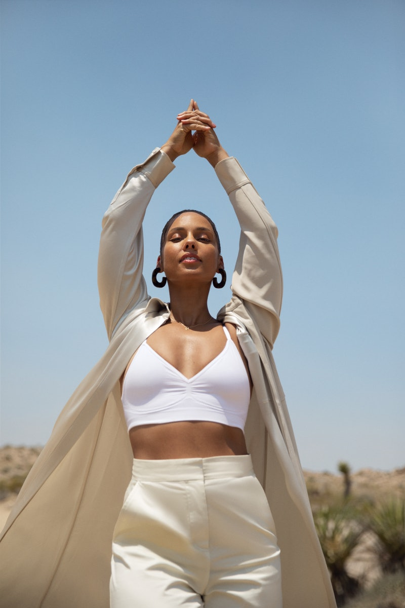 Alicia Keys discusses her beauty routine, which is all about self-love and mantras.