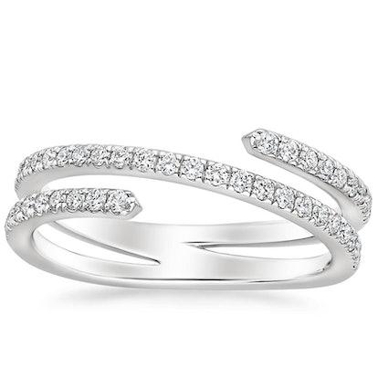 Helix Diamond Ring