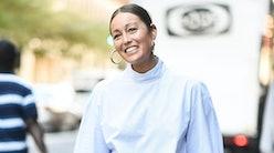 Rachael Wang Hoop Earrings