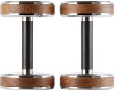 Brown & Black Pen Dumbbell Set
