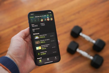 Apple Fitness+ review: Apple Fitness+ app on iPhone 12